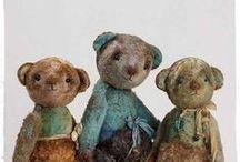 Teddybears: my old friends / beren van stof