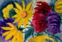 Emil Nolde's flower power / flowers
