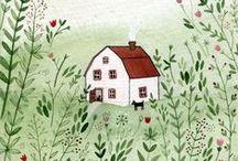 magic houses / huizen