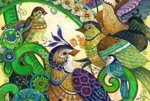 Kleurrijk & vormen / patronen in de natuur, dagelijks leven en kunst