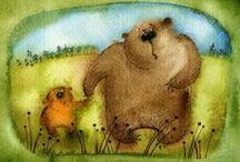 bear oh bear / getekende en/of geschilderde beren