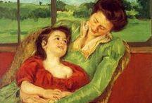 Mary Cassatt / schilderes