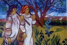 Natalia Goncharova (Russian, 1881-1962) / kunst