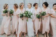 Bridesmaids + Bestmen
