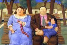 Fernando Botero, families / Fernando Botero