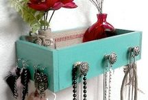 Awesome organisation & storage ideas / A place for everything & everything in it's place.