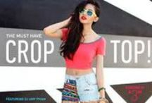 Crop Tops / Buy Crop Tops, Maxi, long, Midi, Mini, short Cropped Tops For Women Online at Best Price in India.