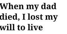 I miss my dad alot / My dad my hero