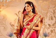 Wedding Sarees / Buy beautiful & designer sarees as party wear sarees, bollywood sarees, bridal wedding sarees, printed, embroidered & silk all you need are available at: shadesandyou.com