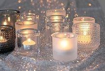 LANTERNS  ♥ LIGHTS  ♥ CANDLES