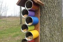 Bird feeders (Easy, DIY)