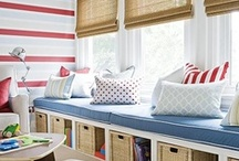 Window seat / Perfect for kids