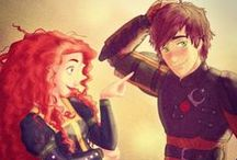 Mericcup / This is for you Mericcup shippers. For those who think that Astrid isn't good enough for Hiccup and know that he's better off with Merida. Mericup (Merida and Hiccup) - If something happened to Astrid, I want Hiccup shipped with Merida. My second most favorite couple with Hicstrid being my first! / by Noctus Fury