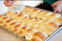 Breads ,rolls ,bagels and croissants  :)