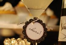 New Years Eve - All that glitters is gold / Inspiration board for the NYE party we're throwing this year