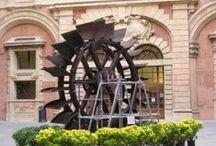 ruota idraulica / L'ultima delle ruote idrauliche utilizzate nei secoli scorsi nelle manifatture bolognesi