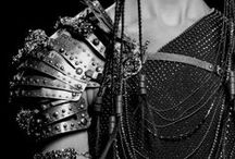 Fashion Battlefield / Futuristic clothing and accessories, inspired from middle ages warriors.