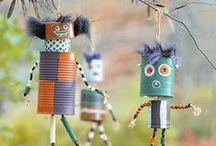 tvoření pro děti-children's art-craft