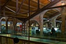 Industrial style and restorations / Architecture. Interior. Design.