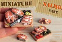 tutorials miniatures food / by Lilia S