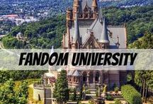 Fandom University / Students! Welcome to Fandom University. Here you can learn, discover, explore, create, and show and tell your favorite fandoms and characters without criticism. Please have your pins be appropriate, with no flames, sexual content, or cussing. And please don't harass fellow pinners for liking a certain fandom or OTP. If you don't like it, either ignore it or say that it's not your cup of tea and move on. Also please feel free to invite as many of your followers/friends as you want! THANK YOU!!!