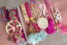 Gioielli / Ketting, armband en ring
