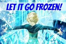 Let It Go Frozen! / This group board is for all you Frozen fans (including me). So have fun and LET IT GO!!! lol XD