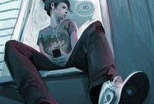 Projekt 401 / illustration - teen- sequency