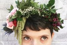 Flower Crown / All fresh, made to order wearable flower crowns