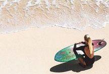 Girls surf /