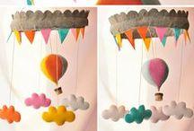 IDEE STANZETTA / piccole idee di carta e stoffa per una stanzetta soffice e coccolosa :D