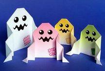 Origami / Modèles d'origami à colorier, imprimer et plier
