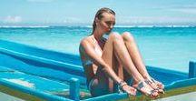 SUMMER VIBES / Summer, Holidays, Sun, Ocean, Girls, Friends,