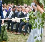 Wedding Rituals / A ritual is a visible act performed with invisible intent. These wedding rituals designed to add meaning to your ceremony