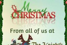 Christmas Holidays / Affordable charms for Pandora style European charm bracelets