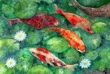 Animal paintings by Yumi Kudo / Animal paintings