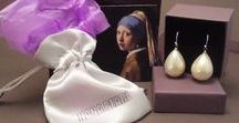 Girl with the Pearl Earring / Painting 'Girl with the pearl earring' by Vermeer Jewelry