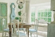 Gustavian / Swedish Style / by Rossana
