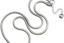 Necklaces / European Style Stainless Steel Charm Necklaces