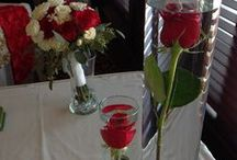 Red Wedding Flowers / Our Original Designs For Local Weddings!