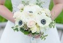 White Wedding Flowers and Arrangments
