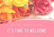 Spring inspirations / Spring inspirations. Jewelry for spring. Spring colors. Spring time. Silver jewelry with pastel stones