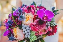 Flowers to Hold - Mixed Color Bouquets / Bouquets in mixed colors / by Dandie Andie Floral Designs