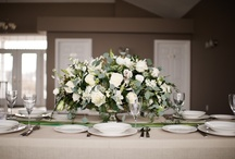 Flowers for the Table / Table top designs, centrepieces, arrangements and other floral designs