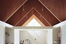 Interior/Exterior / architecture, inside an out