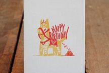 Paperwork / I adore paper goods, but letterpressed cards make me weak at the knees / by Carmen Ruelas