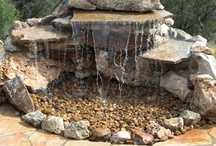 Water Features And Fountains / Love the sound of water, it is so soothing.
