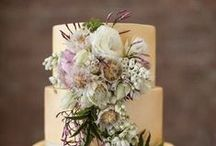 Flowers on the Cake / wedding cakes adorned with flowers we are looking at the flowers more than the cakes