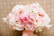 Flowers to Hold - Pink & Blush Bouquets / Wedding bouquets in all shades of pink / by Dandie Andie Floral Designs
