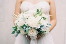 Flowers to Hold - White & Ivory Bouquets / Bouquets in neutral shades of white, cream, ivory, beige, etc. / by Dandie Andie Floral Designs